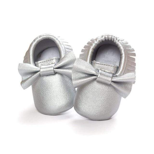 Mindful Yard Baby First Walkers Asian Bank / 13 FREE Baby Bow Moccasins (Limited Edition)