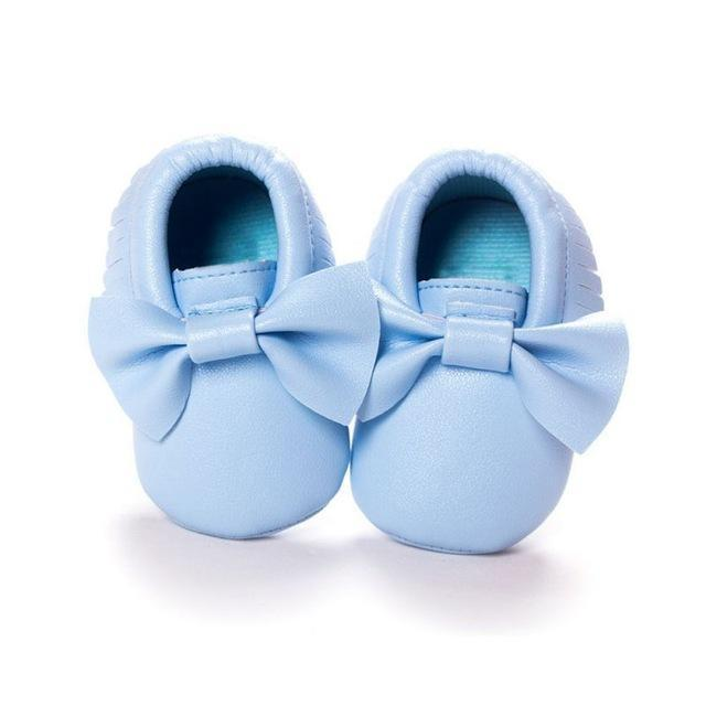 Mindful Yard Baby First Walkers Blue / 11 FREE Baby Bow Moccasins (Limited Edition)