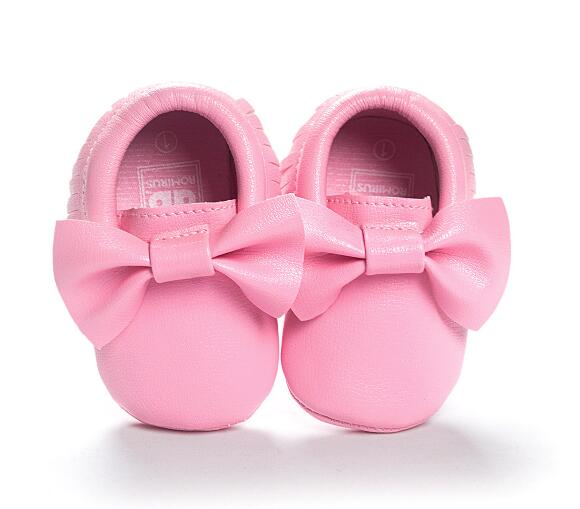 Mindful Yard Baby First Walkers Pink / 12 FREE Baby Bow Moccasins (Limited Edition)