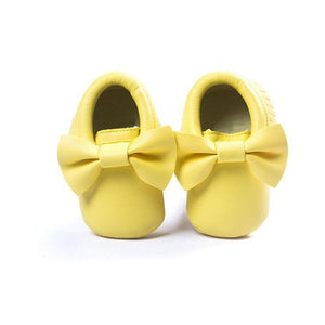 Mindful Yard Baby First Walkers Yellow / 13 FREE Baby Bow Moccasins (Limited Edition)