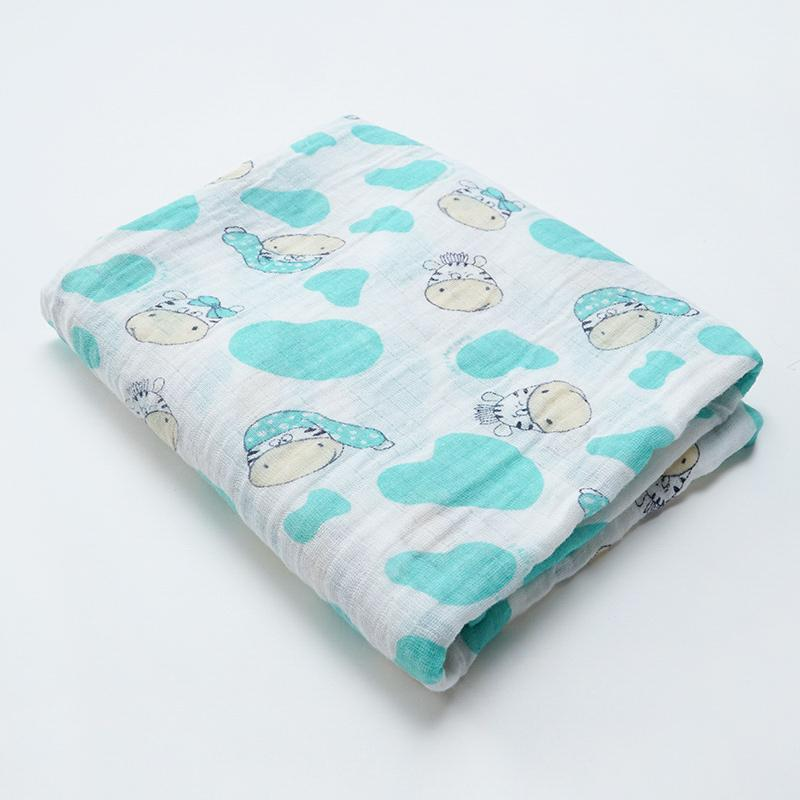 Soft Cotton Animal Baby Blankets - Mindful Yard
