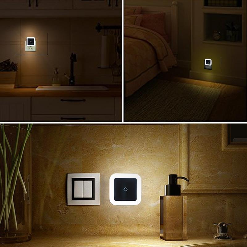 Baby Room LED Wall Night Lamp with Light Sensor Control - Mindful Yard