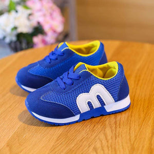 Children Breathable Sports Casual Sneakers - Mindful Yard