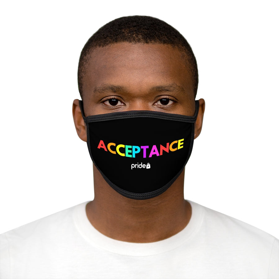 Acceptance Pride - Face Mask