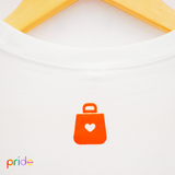 Official Pride Launch Tee - White