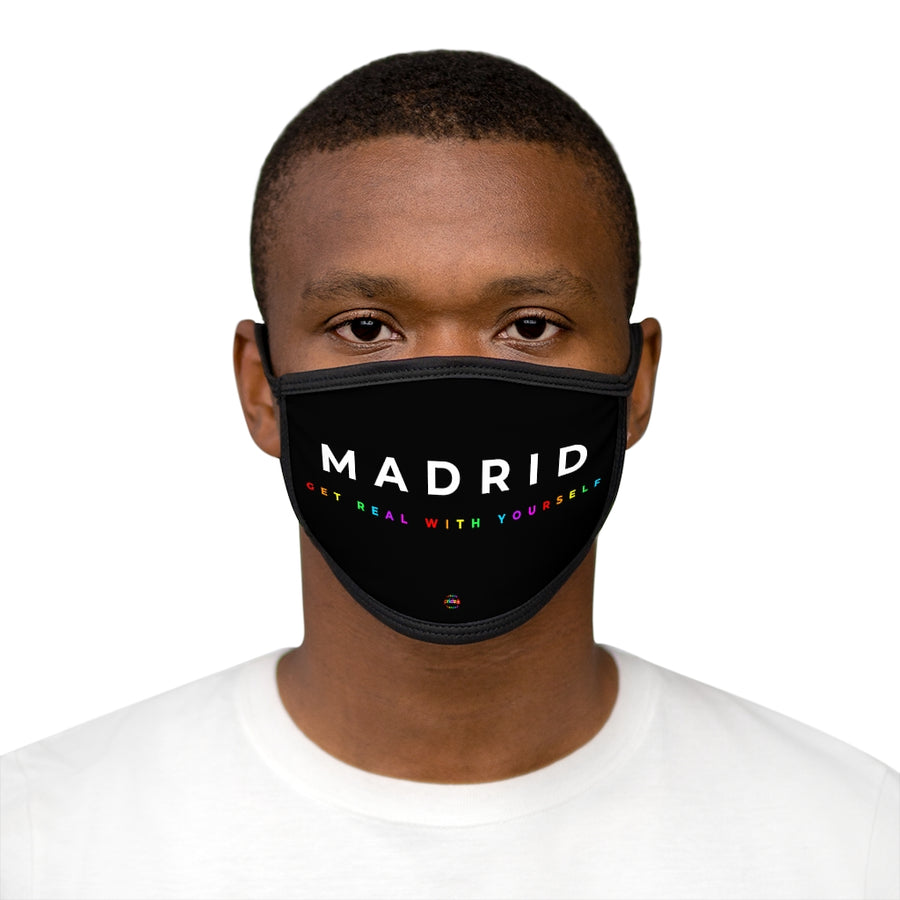 Madrid Get Real With Yourself - Face Mask