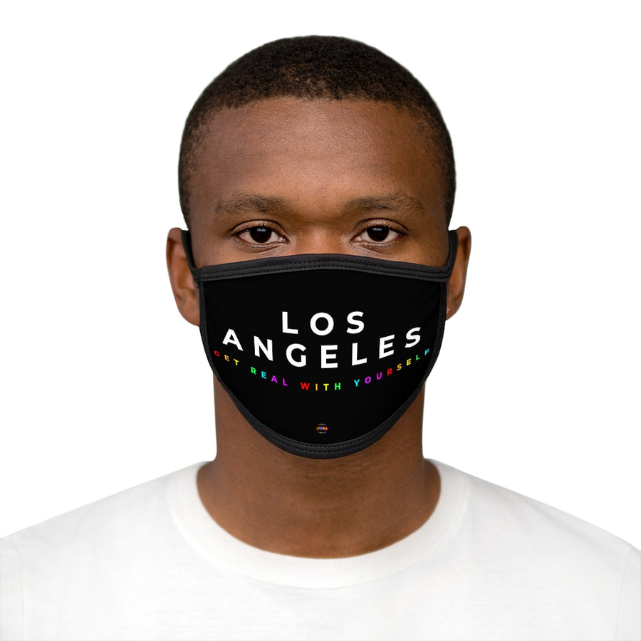 Los Angeles Get Real With Yourself - Face Mask