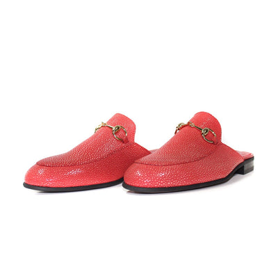 Suave Red Penny Loafers