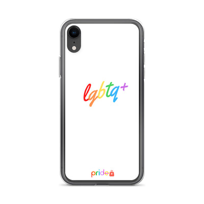 LGBTQ+ IN WHITE - IPHONE CASE FOR ALL IPHONES