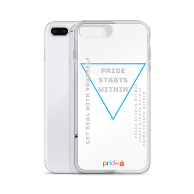 PRIDE STARTS WITHIN IN WHITE - IPHONE CASE FOR ALL IPHONES