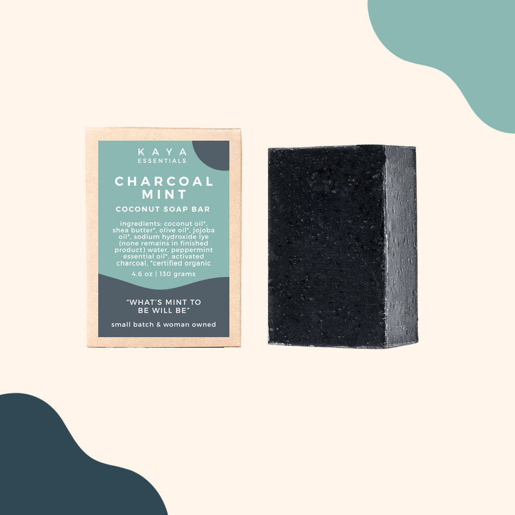Charcoal Mint Soap Bar