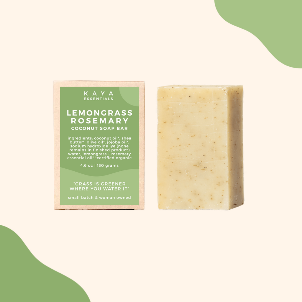 Lemongrass Rosemary Soap Bar
