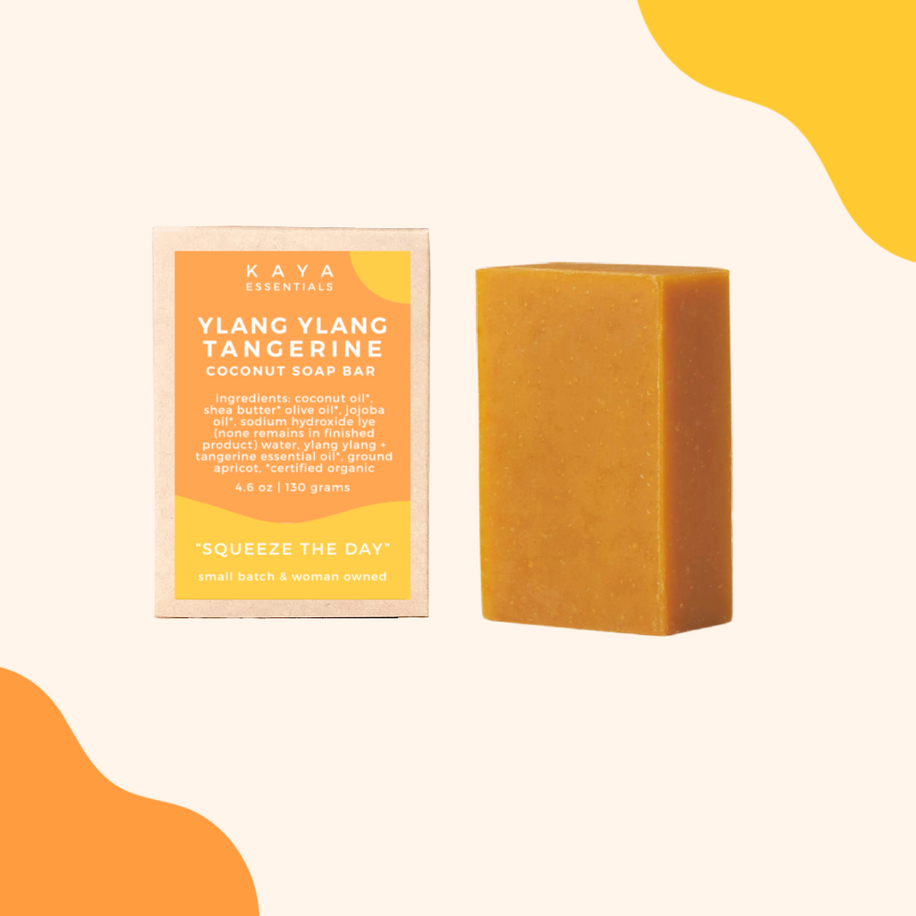 Ylang Ylang & Tangerine Soap Bar