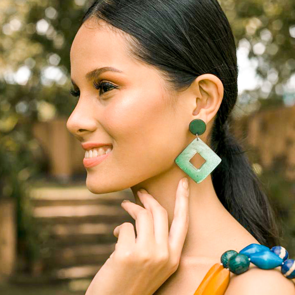 Kalipay Capiz Earrings