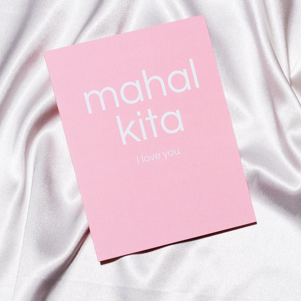 Cotton Card - Mahal Kita