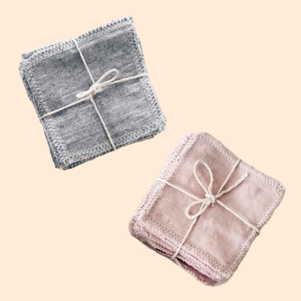 Reusable Bamboo Cotton Facial Pads