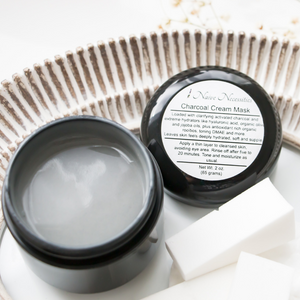 Charcoal Cream Face Mask - Naive Necessities