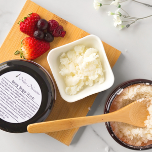 Berry Sugar Scrub - Naive Necessities