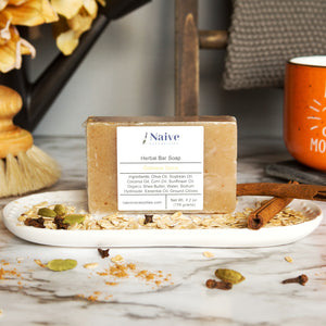 Oatmeal Spice Bar Soap - Naive Necessities