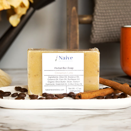 Cinnamon Latte Bar Soap - Naive Necessities