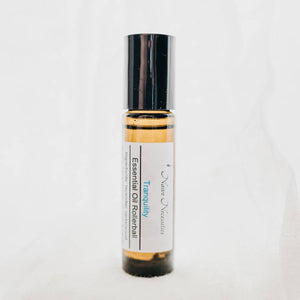 Tranquility Rollerball - Aromatherapy Blend - Anxiety - Deep Relaxation - Relax - Sleep Aid - Help Relax - Natural Calm - Soothe - Anxiety