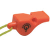 PEA-LESS PLASTIC WHISTLE WITH LANYARD EX1441
