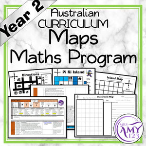 Year 2 Maps Maths Program