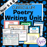 Poetry Writing Unit -Year 5 & 6- Aligned with ACARA