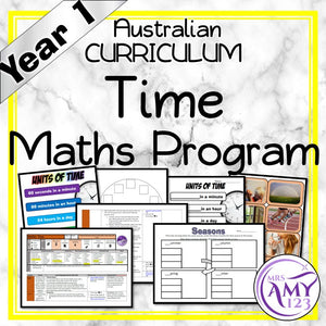 Year 1 Time Maths Program