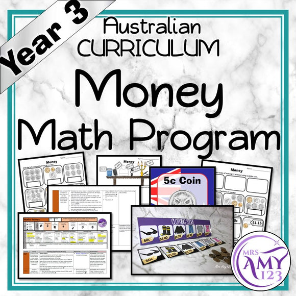 Year 3 Money Maths Program