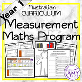 Year 1 Measurement Maths Program
