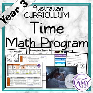 Year 3 Time Maths Program