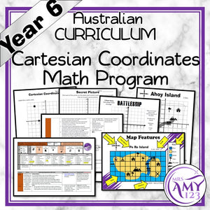 Year 6 Cartesian Coordinates Maths Program