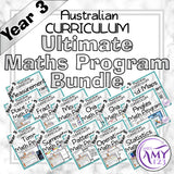 Year 3 Ultimate Maths Program Bundle- Australian Curriculum