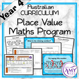 Year 4 Place Value Maths Program