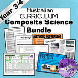 Australian Curriculum Year 3/4 Ultimate Composite Bundle