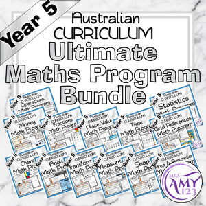 Year 5 Ultimate Maths Program Bundle- Australian Curriculum