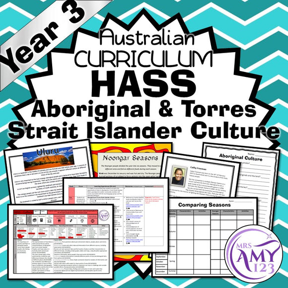 Year 3 HASS Aboriginal & Torres Strait Islander Culture Unit