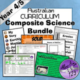 Australian Curriculum Year 4/5 Ultimate Composite Bundle