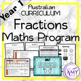 Year 1 Fractions Maths Program