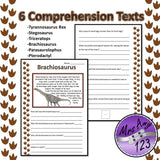 Dinosaur Comprehension Texts and Activities