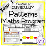 Year 1 Patterns Maths Programs