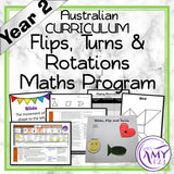 Year 2 Flips, Turns and Rotations Maths Program