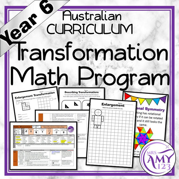 Year 6 Transformation Maths Program