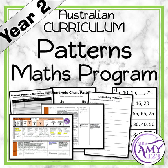 Year 2 Number Patterns Maths Program