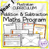 Year 1 Addition & Subtraction Maths Program