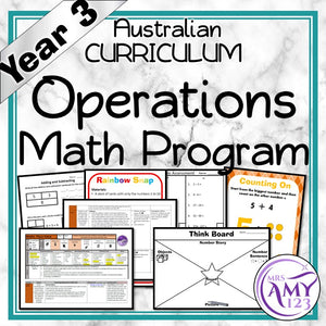Year 3 Operations Maths Program