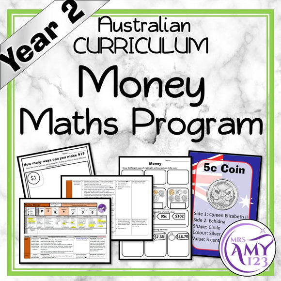 Year 2 Money Maths Program