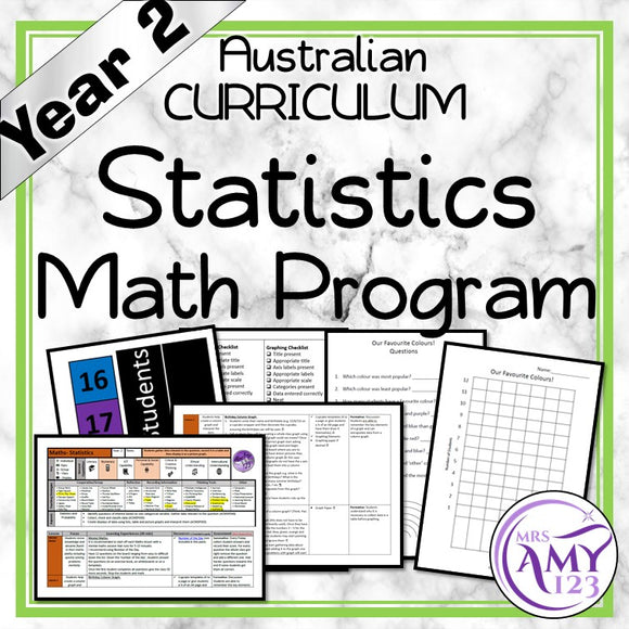 Year 2 Statistics Maths Program