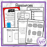 Year 6 Area & Perimeter Maths Program